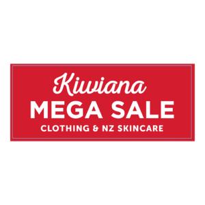 Kiwiana Mega Sale Logo